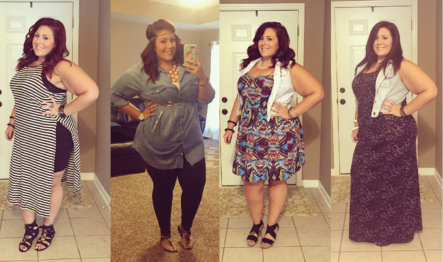 This weeks Plus Size Looks! | Curves, Curls and Clothes